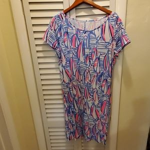 Lilly Pulitzer short sleeve marlowe, size XL